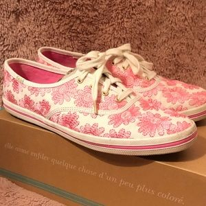 keds x kate spade Collection - Flower Sneaker
